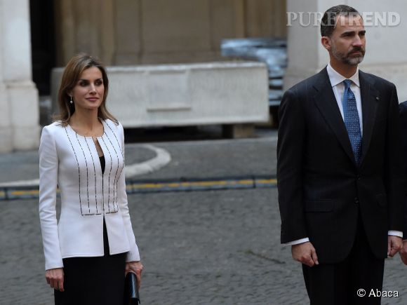 Letizia Ortiz, working girl au côté de son mari, le roi Felipe VI d'Espagne.