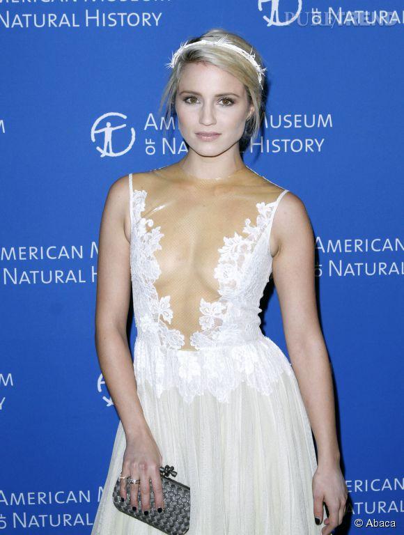 Dianna Agron, véritable nymphe sexy pour un gala à New York, on est sous le charme !