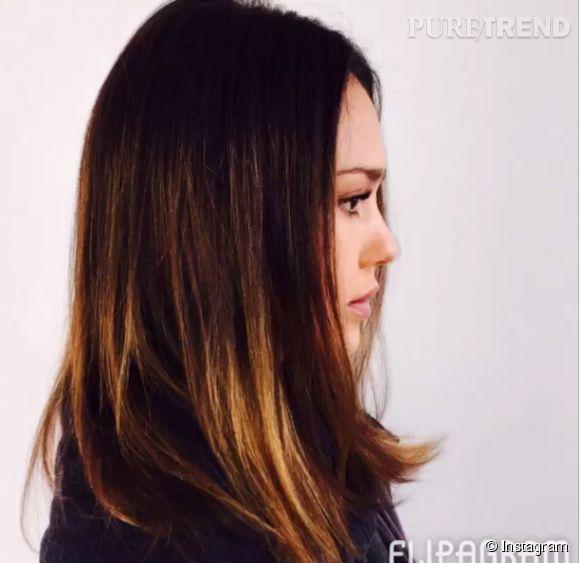 Jessica Alba n'est désormais plus une brunette.
