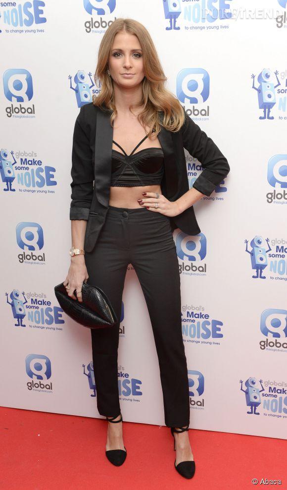 Millie Mackintosh à la soirée de charité de Global Radio à Londres le 20 novembre 2014.
