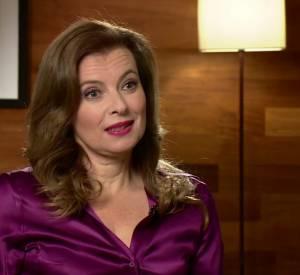 """Valérie Trierweiler, en interview pour pour le """"Andrew Marr Show"""" diffusé sur la BBC, ce dimanche 23 novembre 2014."""