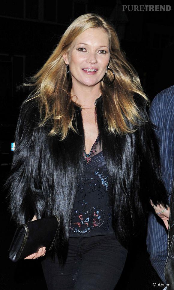 Kate Moss, 40 ans et toujours au top.