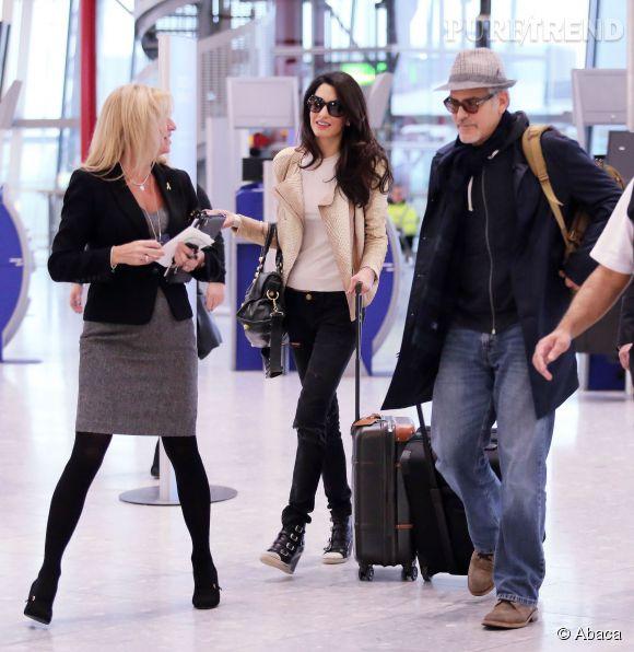 George et Amal Clooney, un couple stylé.