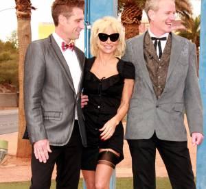 Pamela Anderson : aguicheuse en porte-jarretelles pour un mariage à Las Vegas