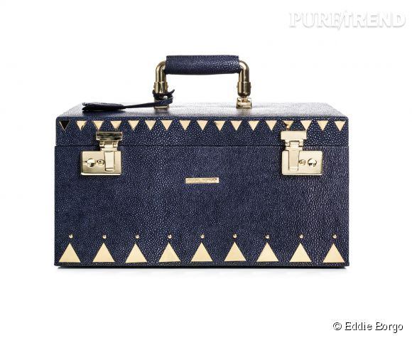 La boîte à bijoux Eddie Borgo en galuchat, 1 600€.