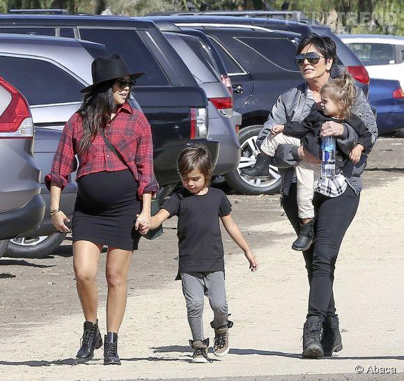 Kourtney Kardashian est enceinte de son troisième enfant.