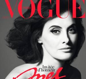 Inès de la Fressange : à 57 ans, la Parisienne pose topless pour Vogue