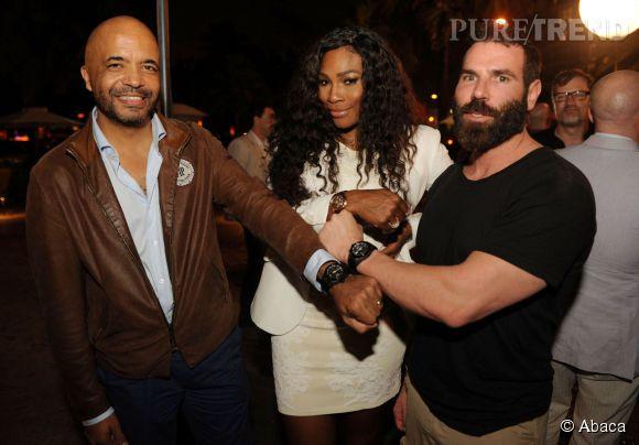 Serena Williams reine de la soirée aux côtés de Olivier Audemars et Dan Bilzerian.
