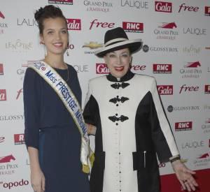 Geneviève de Fontenay et Miss Prestige National.