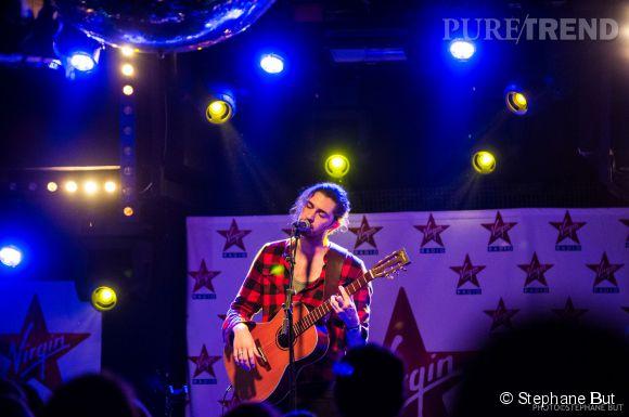 Hozier a envoûté le Bus Palladium pour Paris In Live de Virgin Radio.