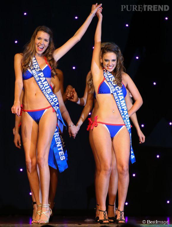 Miss Paris, à gauche, a été élue Miss Nationale 2015.