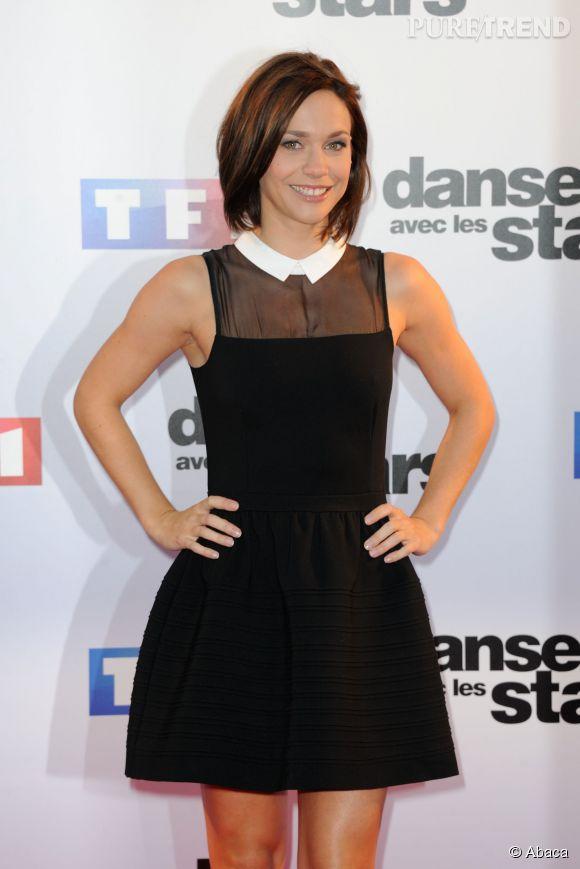 """Nathalie Péchalat est arrivée deuxième de l'émission """"Danse avec les stars"""" cette année."""