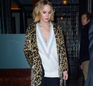 Jennifer Lawrence : décolletée et léopard, l'actrice se la joue sauvage