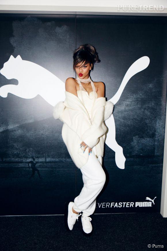 Rihanna devient l'ambassadrice mondiale et la directrice artistique de Puma.