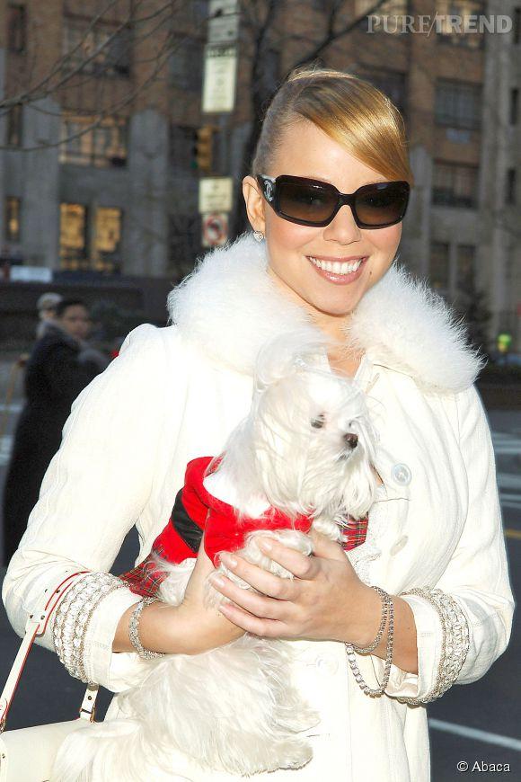 Mariah Carey ne compte pas lorsqu'il s'agit de gâter ses chiens.
