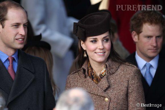 Kate Middleton, radieuse à la messe de Noël de la famille royale.