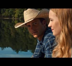 """Scott Eastwood : portrait craché de son père dans le trailer """"The Longest Ride"""""""