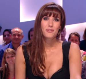 """Le jeudi 10 juillet 2014, Doria Tillier fait ses adieux au """"Grand Journal"""" de Canal+ en tant que miss Météo."""