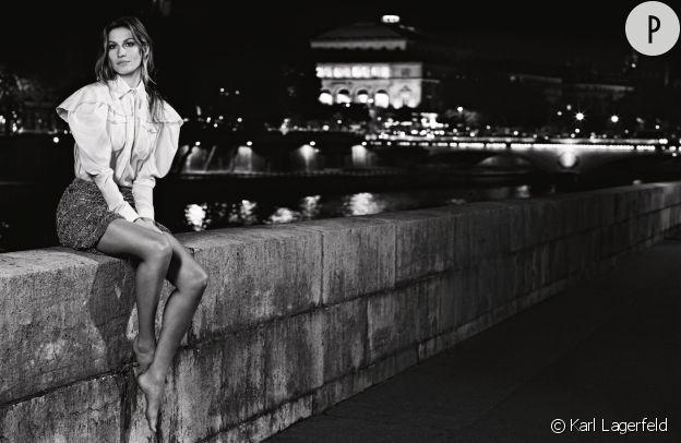 Gisèle Bündchen pour Chanel, collection printemps 2015.