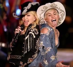 Baiser torride entre Miley Cyrus et Madonna, bye bye Britney !