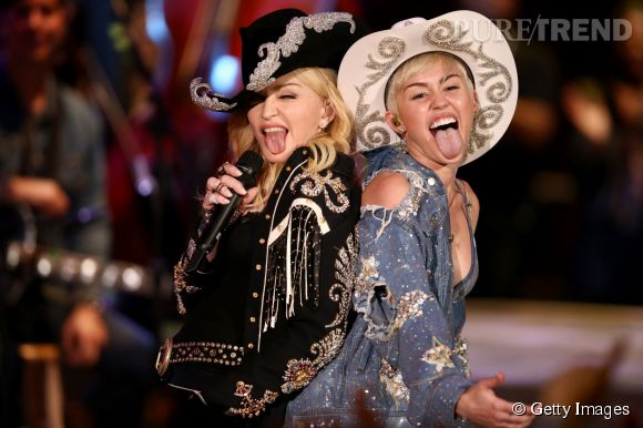 Miley Cyrus serait-elle obsédée par Madonna ?