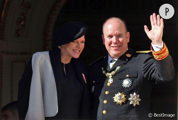 Le prince Albert de Monaco a présenté ses voeux aux Monégasque, soulignant son bonheur d'être papa.