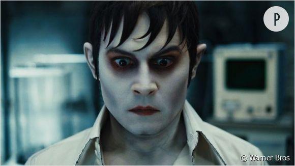 """Johnny Depp déjà méconnaissable dans """"Dark Shadows""""."""