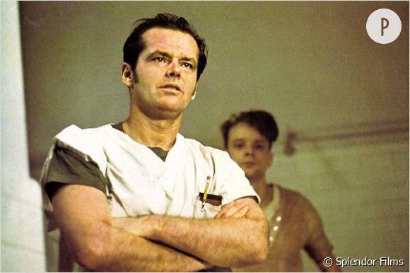 """""""Vol au-dessus d'un nid de coucou"""" de Milos Forman avec Jack Nicholson et Louise Fletcher (entre autres), est sorti en 1975."""