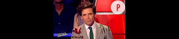 Mika et ses costumes The Voice