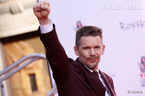 Ethan Hawke visiblement très heureux à Hollywood !
