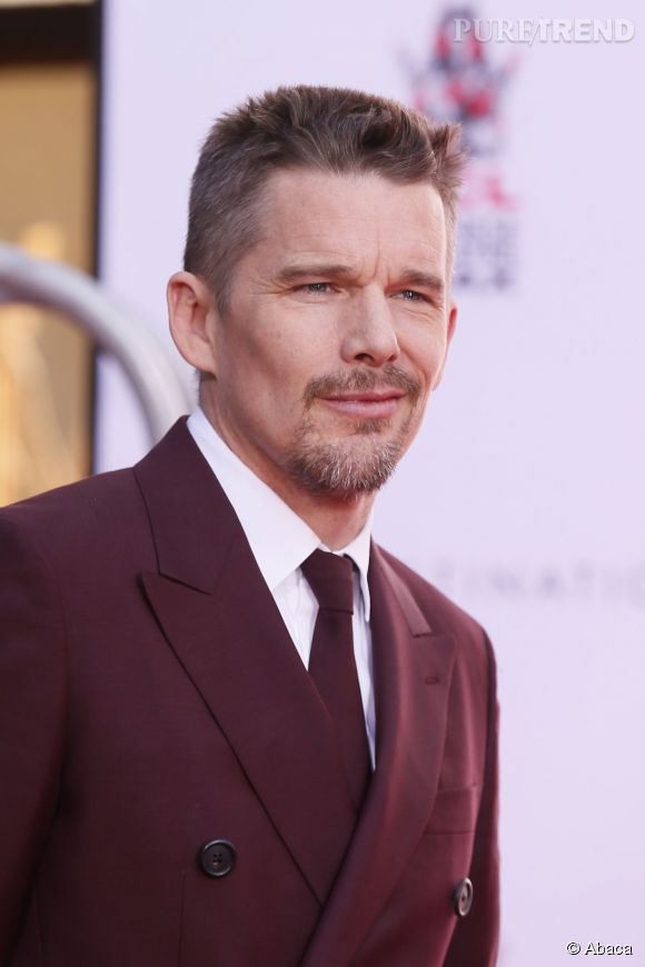 Ethan Hawke sur le Walk Of Fame à Hollywood jeudi 8 janvier 2015.