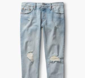 """Le jean """"501 CT"""" de Levi's. Le nouveau denim que l'on va s'arracher en 2015. Prix : 130€"""