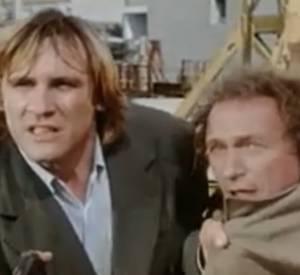 """Bande annonce du film """"Les Fugitifs"""" avec Gérard Depardieu et Pierre Richard."""