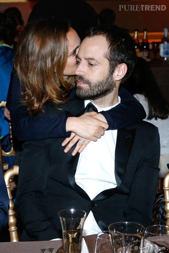 Moment Tendresse Pour Natalie Portman Et Benjamin Millepied Ce