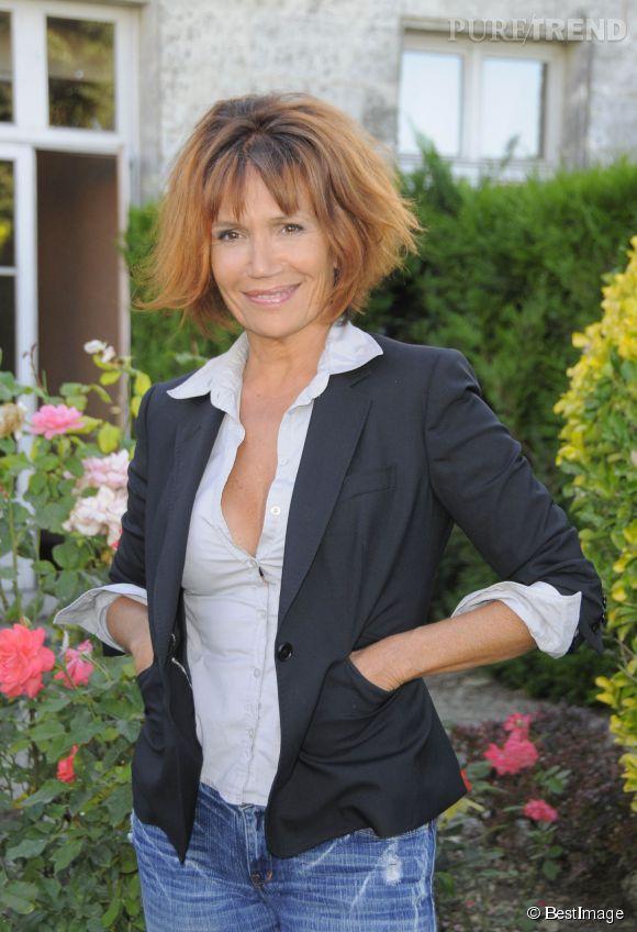 Clémentine Célarié, une actrice qui a le partage pour valeur.