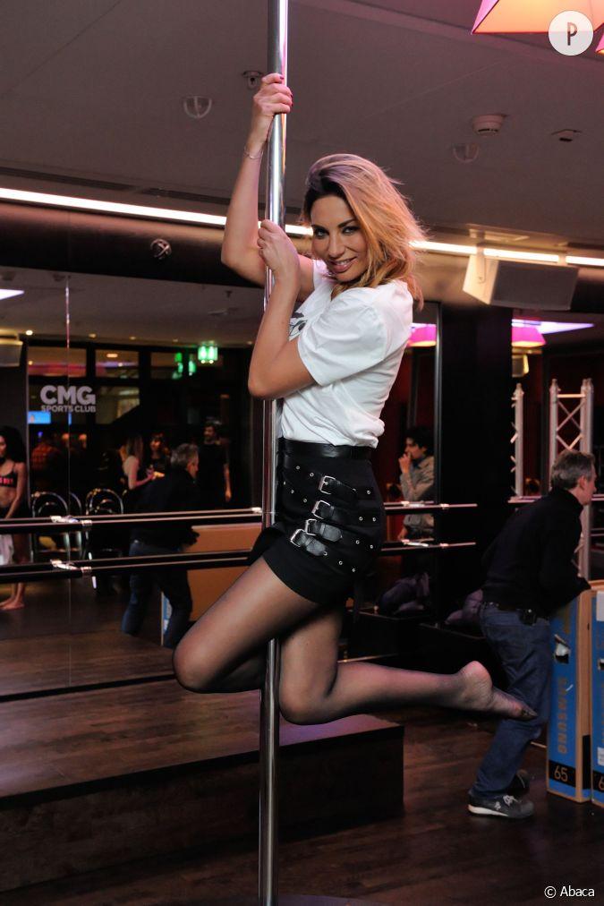 Ariane brodier est blouissante pour se confronter la - Barre de pole dance sans fixation plafond ...
