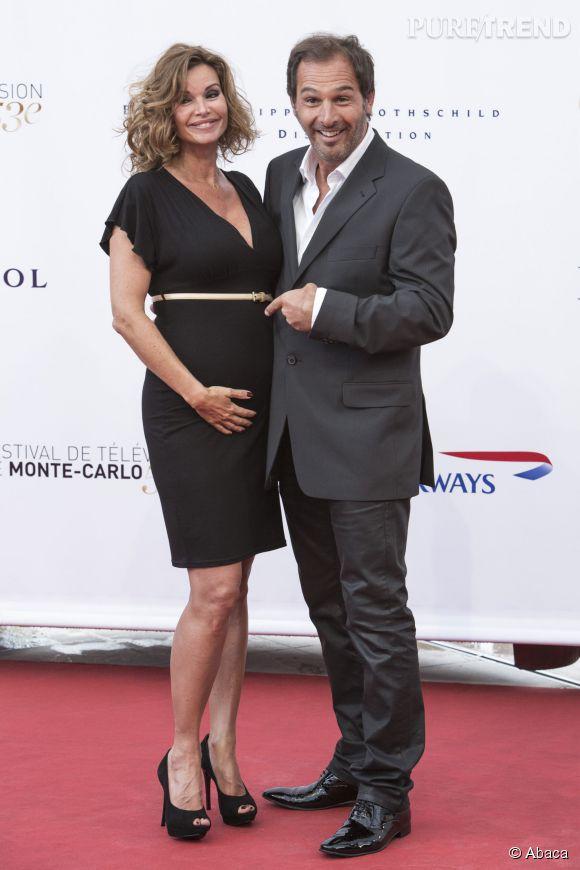 Ingrid Chauvin, enceinte de Jade, et son époux Thierry Peythieu.