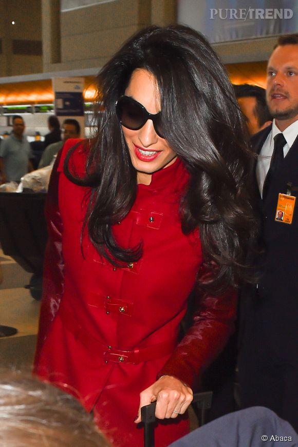 Amal Alamuddin - Clooney a la chevelure brune la plus parfaite du monde. Sérieusement, comment fait-elle ?!