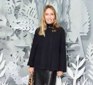 Alexandra Golovanoff au défilé Chanel Haute Couture Printemps-Été 2015 à Paris le 27 janvier 2015.