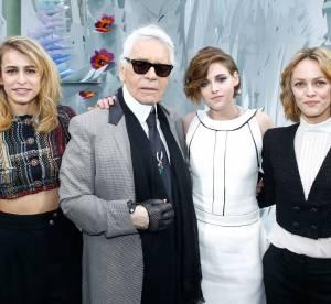 Kristen Stewart, Vanessa Paradis, Kris Jenner chez Chanel Couture Été 2015