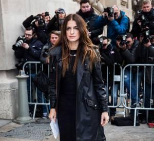 Joana Preiss au défilé Chanel Haute Couture Printemps-Été 2015 à Paris le 27 janvier 2015.