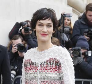 Clotilde Hesme au défilé Chanel Haute Couture Printemps-Été 2015 à Paris le 27 janvier 2015.