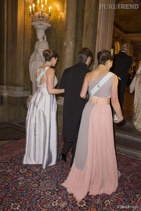 Victoria et Madeleine, deux  soeurs  et deux princesses dans toute leur splendeur.