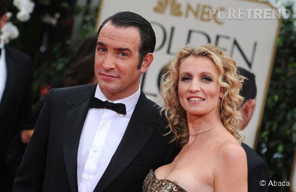 Alexandra Lamy et Jean Dujardin ont été un couple à l'écran comme sur le tapis rouge.