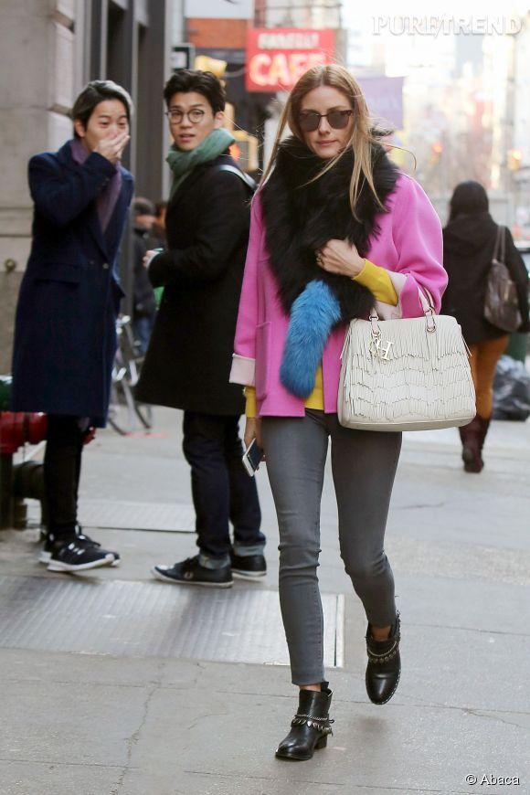 Olivia Palermo, une reine du look ! Copiez sa tenue avec la sélection shopping de  Puretrend.