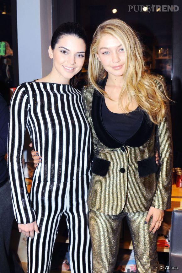 Kendall Jenner et Gigi Hadid, le duo de bombes inséparable.