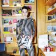 Kendall Jenner fait mouche pour le lancement du dernier numéro de  Love Magazine  dans une combinaison à sequins.