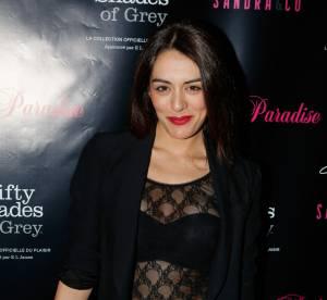 Sofia Essaïdi : sexy dans son top transparent