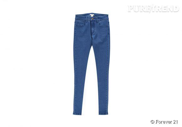 Jean skinny indigo Forever 21, 17,75€.