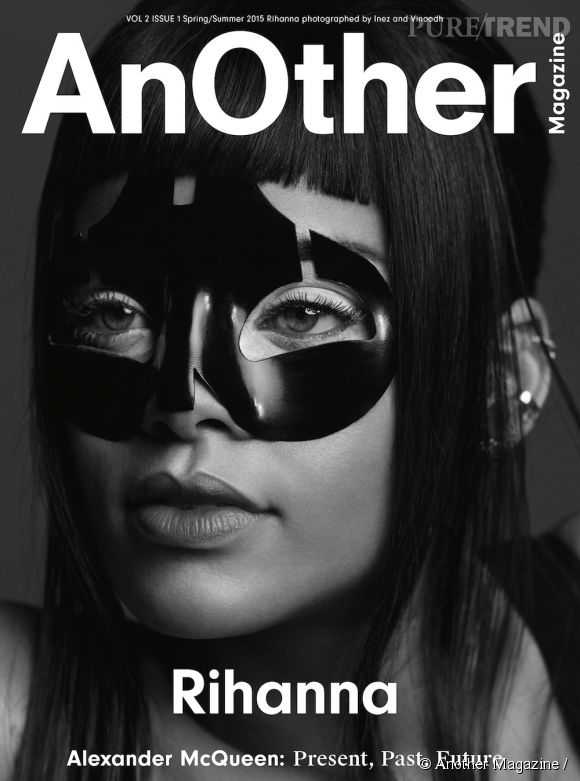 Rihanna photographiée par Inez and Vinoodh pour Another Magazine S/S 2015 Alexander McQueen, but also Alexander McQueen: Present, Past and Future.